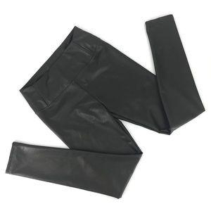 7 For All Mankind Vegan Leather Leggings, Medium